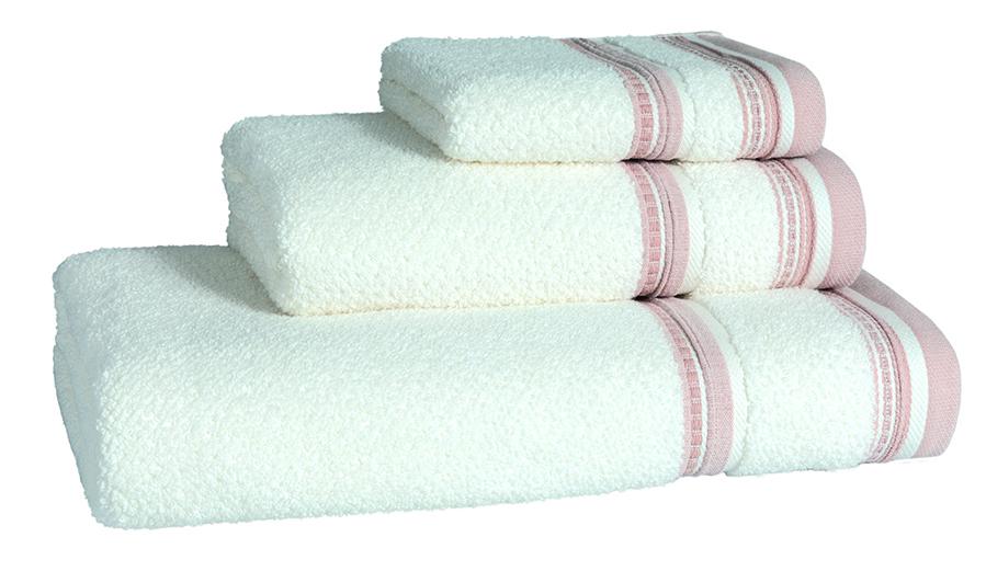 Granada Blush Bath Linen - Facecloth 30x30,  Finger Towel 30x50, Guest Towel 50x100, Bath Towel 70x140, Bath Sheet 100x150