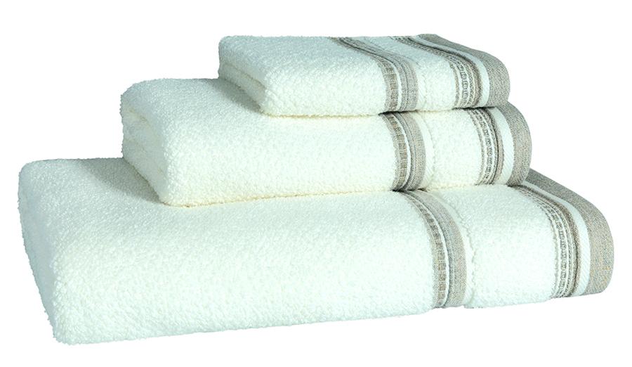 Granada Natural Bath Linen - Facecloth 30x30,  Finger Towel 30x50, Guest Towel 50x100, Bath Towel 70x140, Bath Sheet 100x150
