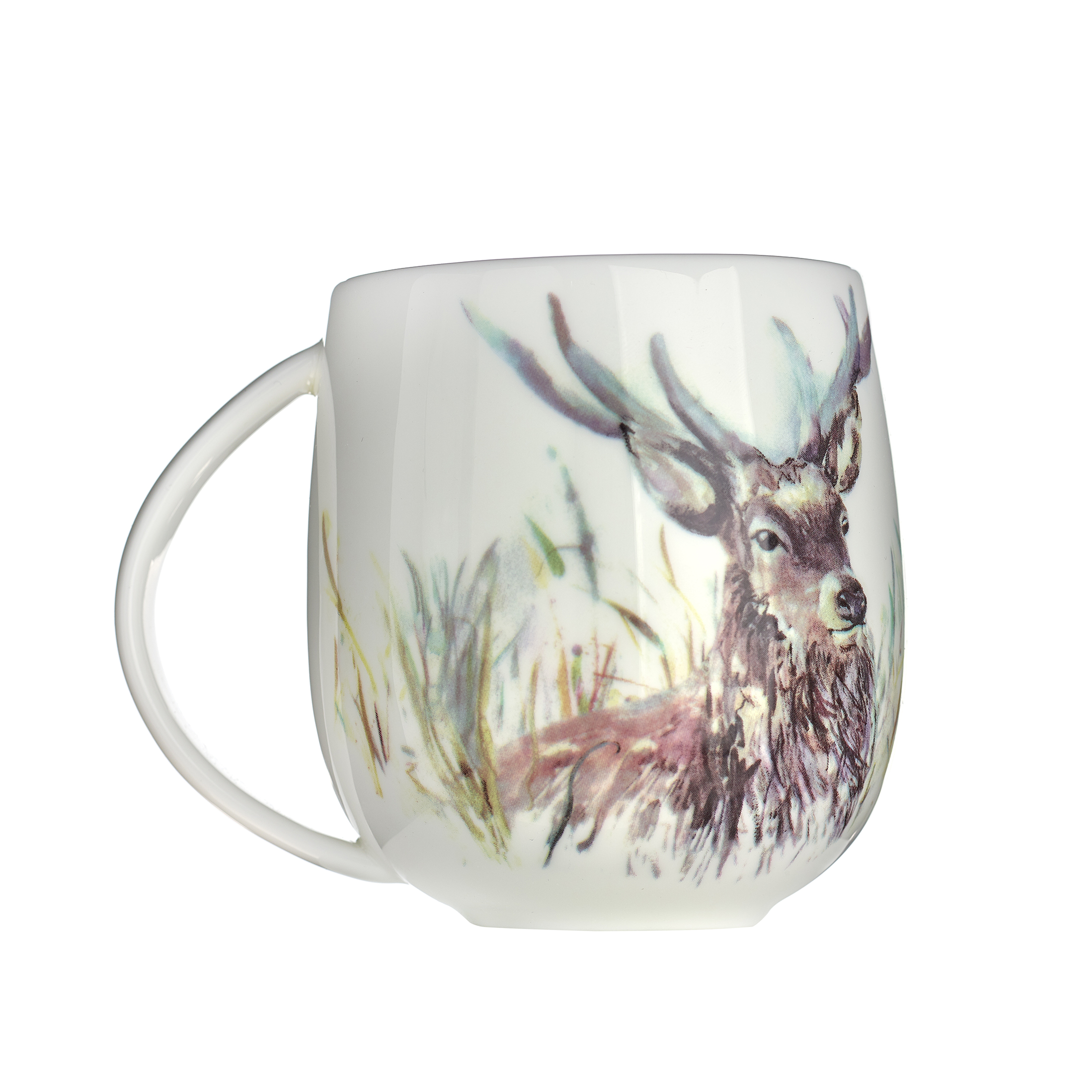 Stag Mug 10(h) x 11.4(w) x 8.2cm(d)