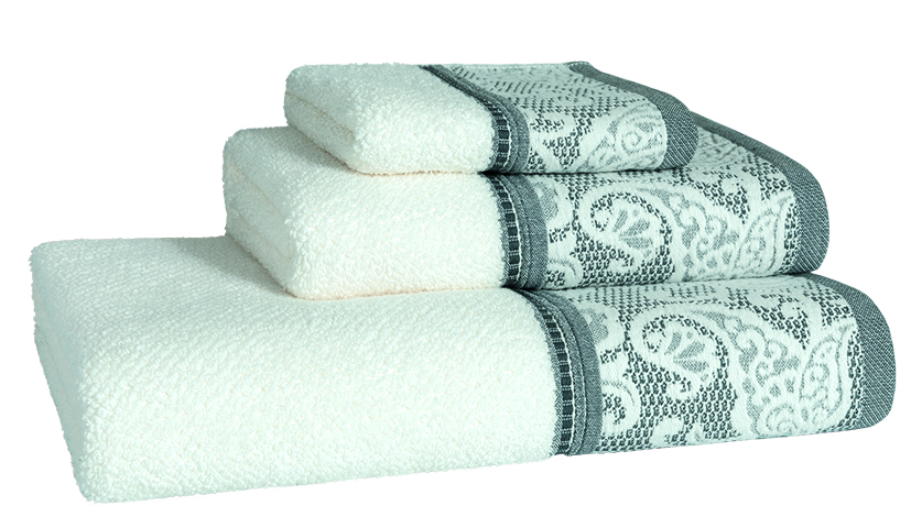 Milano Blue Bath Linen - Finger Towel 30x50, Guest Towel 50x100, Bath Towel 70x140, Bath Sheet 100x150