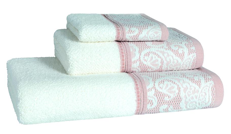 Milano Blush Bath Linen - Finger Towel 30x50, Guest Towel 50x100, Bath Towel 70x140, Bath Sheet 100x150