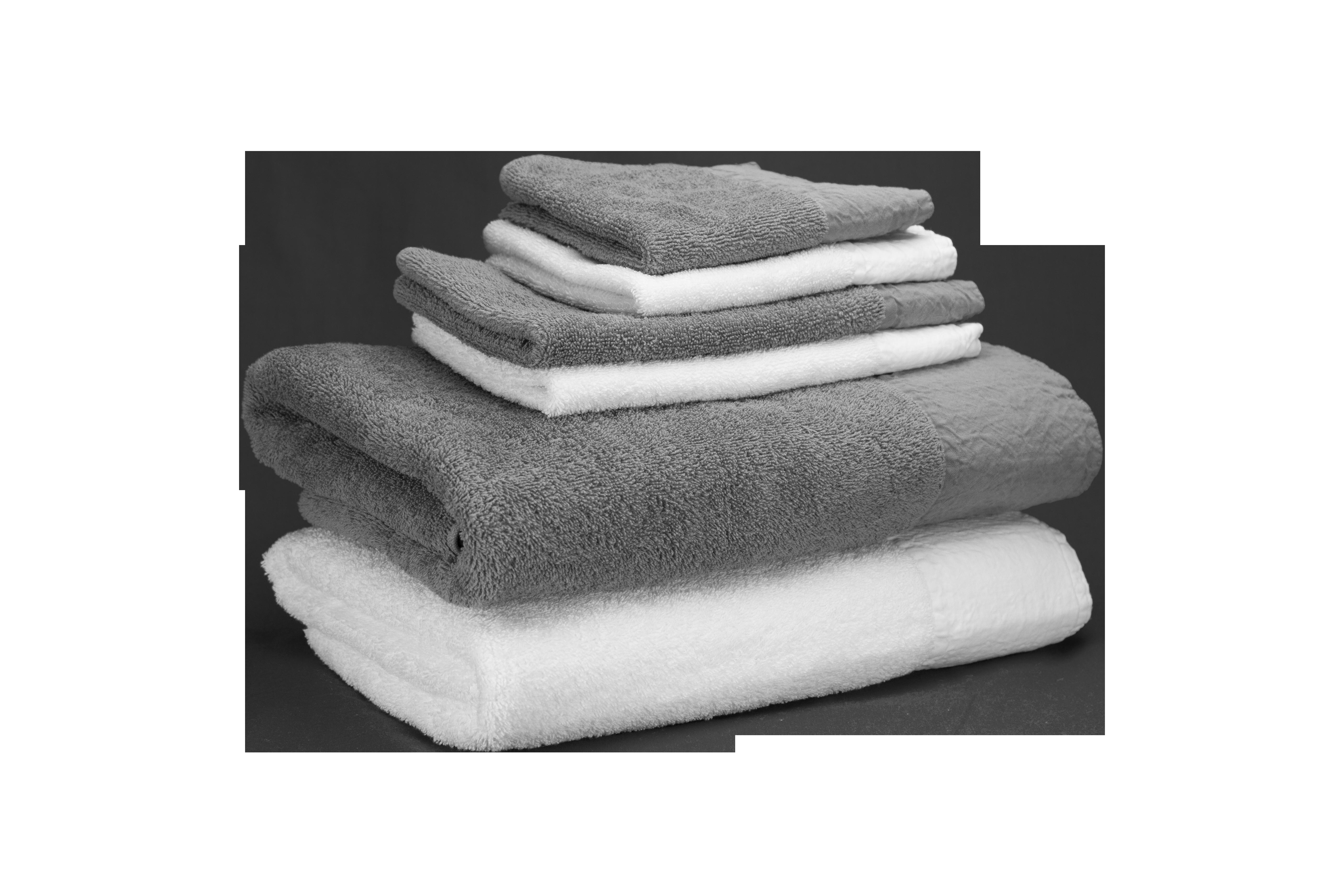 Parma Bath Linen 95% Egyptian Cotton 5 % Linen. Face Cloth 30x30, Finger Towel 30x50, Guest Towel on 50x100, Bath Towels 70x140, Bath Sheet 100x150