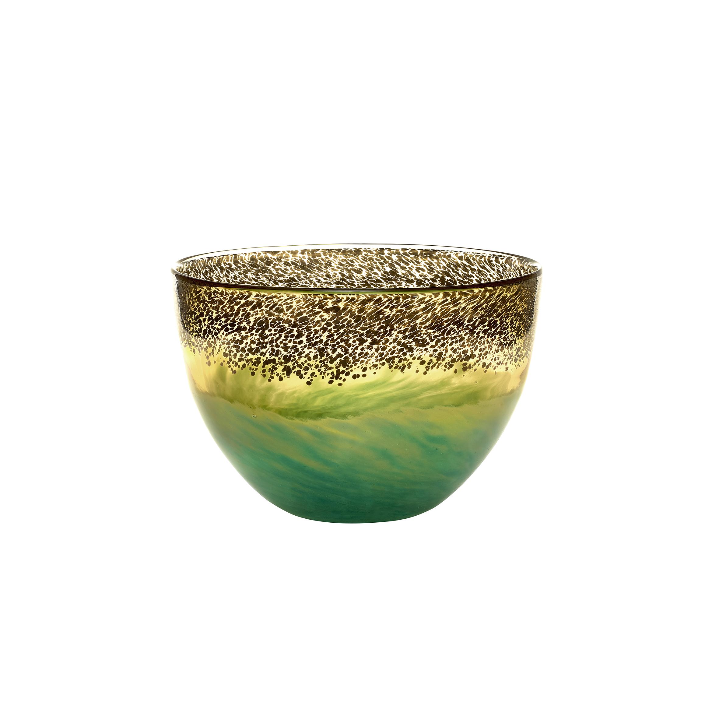 Demeter Gold Bowl Vase 14x21x21cm