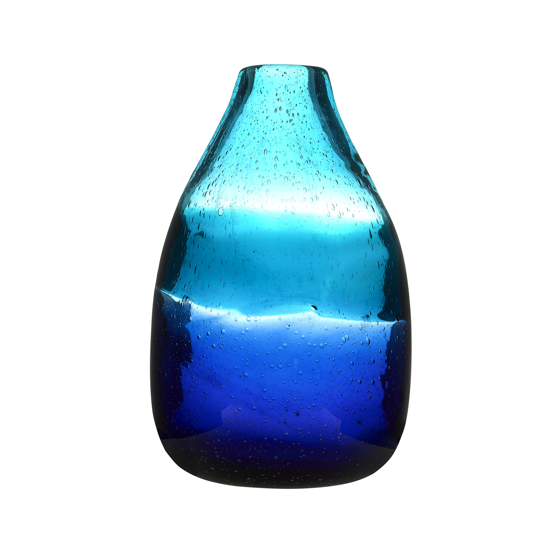 Chandre Tall Vessel Cobalt Vase 30x16cm