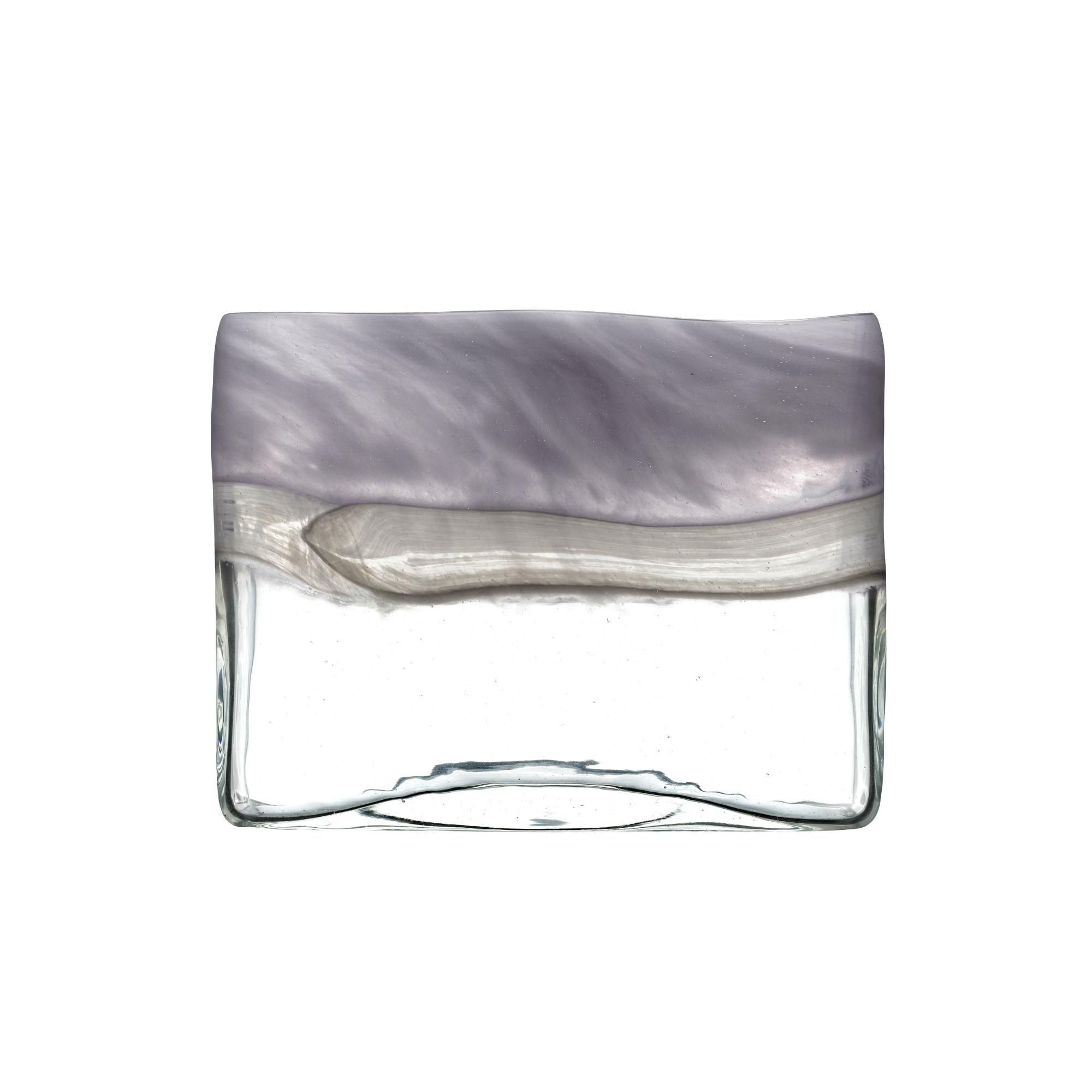 Sabriel Short Vase Moonstone 18cmHx24cmDx10cmW