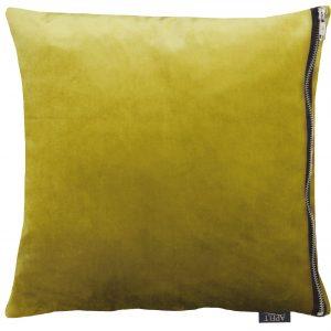 Tassilo Chartreuse Velvet 46x46 & 65x65cm