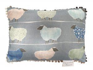 Colyford Pomegrante Linen Cushion 40x60cm