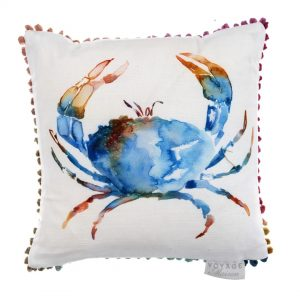 Crustaceans Cobalt Arthouse 30x30