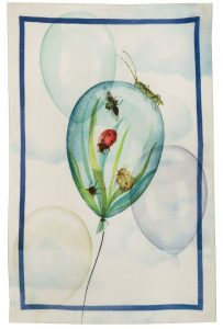 Balloons Air Linen Tea Towel 50x70cm