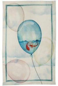 Balloons Water Linen Tea Towel 50x70cm