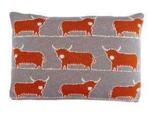 Pheasant Autumn Linen Cushion 40x60cm