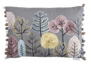 Lomond Quail Linen Cushion 43x43cm
