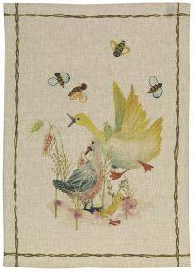 Fattoria Ducks Tea Towel 50x70cm