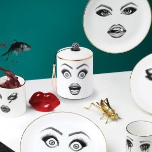 The Performer Candle & Plate, & The Provocateur Plate