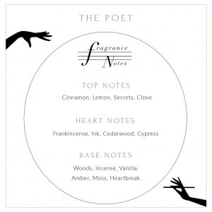 Poet Candle Description
