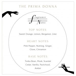 Prima Donna Candle Description