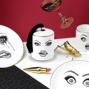 The Provocateur Candle, Poet Plate & Performer Plate.
