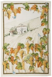 Violetta Vernaccia Linen Tea Towel 50x70cm